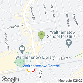 Map of Koala Bear Day Nursery Ltd in London, london
