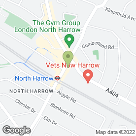 Map of Robertson Phillips in Harrow, middlesex