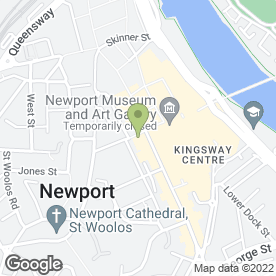Map of Java Coffee House in Newport, gwent