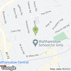 Map of Walthamstow Heating And Boiler Specialists in London, london