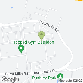 Map of Moonlight Photographics in Burnt Mills, Basildon, essex