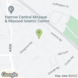 Map of CAPRICCIO STRING QUARTET in Harrow, middlesex