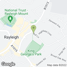 Map of Park Printing in Rayleigh, essex