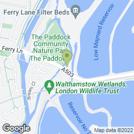 Map of The Ferryboat Inn in London, london