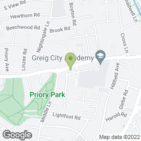 Map of Pradera in London, london