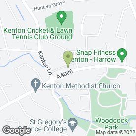 Map of Hawk Heating Supplies Ltd in Kenton, Harrow, middlesex