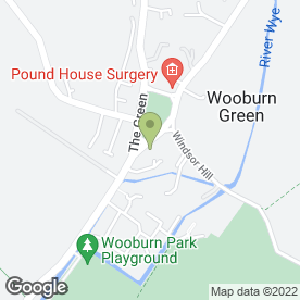 Map of Blow Away Balloons in Wooburn Green, High Wycombe, buckinghamshire
