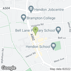 Map of Slim Body Beauty Club in London, london