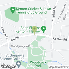 Map of Rubicon Gems in Harrow, middlesex