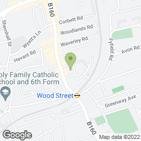 Map of The Wood Street Health Centre in London, london