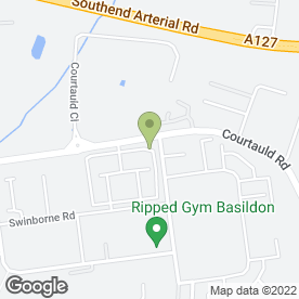 Map of Practical Car & Van Hire (Basildon) in Burnt Mills Industrial Estate, Basildon, essex