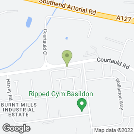 Map of Brown & Co in Basildon, essex