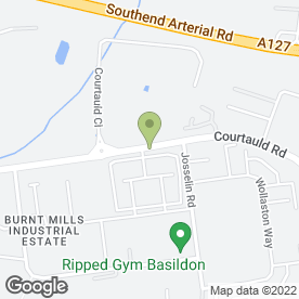 Map of Automatic Pass in Burnt Mills Industrial Estate, Basildon, essex