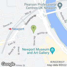 Map of Mcdonald's Restaurants Ltd in Newport, gwent