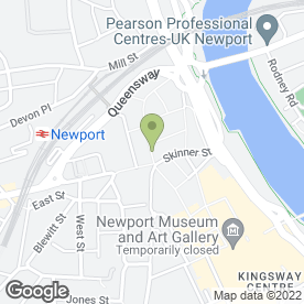 Map of Greggs in Newport, gwent