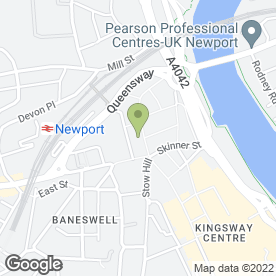Map of Specsavers in Newport, gwent