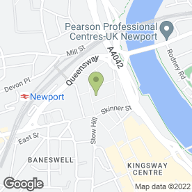 Map of By The Way in NEWPORT, gwent