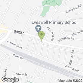 Map of Eveswell Surgery in Newport, gwent