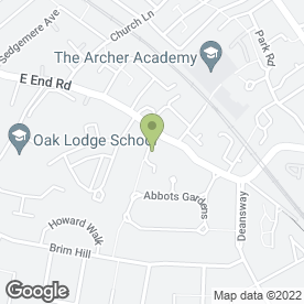 Map of R.T.M Garden Services in East Finchley, London, london