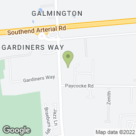 Map of Print Professionals Ltd in Basildon, essex