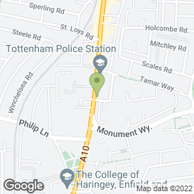 Map of TFC in London, london