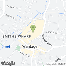 Map of Carphone Warehouse in Wantage, oxfordshire