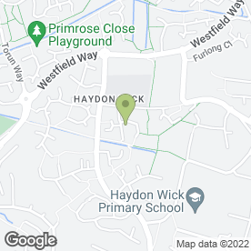 Map of Warnock Electrical Contractor in Swindon, wiltshire