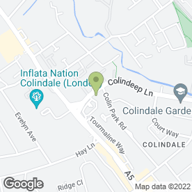 Map of McDonald's Restaurants Ltd in Colindale, London, london