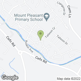 Map of Alpha Fire Protection Ltd in Rogerstone, Newport, gwent