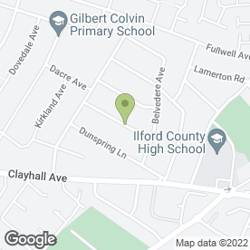 Map of Garden Masters in Ilford, greater london