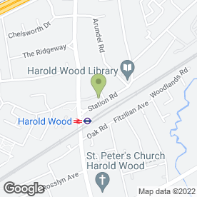 Map of Images Salon in Harold Wood, Romford, greater london