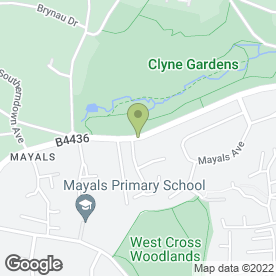 Map of St. James Veterinary Group in Mayals, Swansea, west glamorgan
