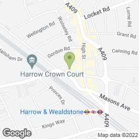 Map of Tasty in Harrow, middlesex