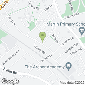 Map of Woodside Security Systems Ltd in London, london