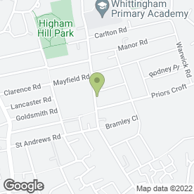Map of Higham Hill Medical Centre in London, london
