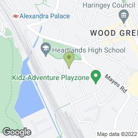 Map of Alexandra Primary School in London, london