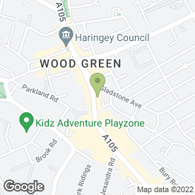 Map of Woodgreen Internet Cafe in London, london