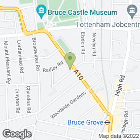 Map of Goddard Veterinary Group in Tottenham, London, london