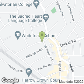 Map of Atlas Scaffolding (UK) Ltd in Harrow, middlesex
