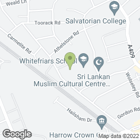 Map of Nagle Flooring Contractors Ltd in Harrow, middlesex