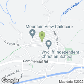 Map of DC Carpentry in Machen, Caerphilly, mid glamorgan