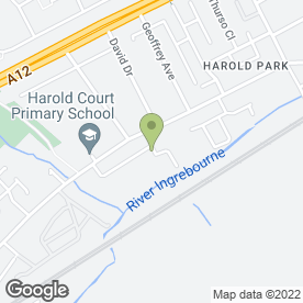 Map of Road Runner Tyres Ltd in Harold Wood, Romford, greater london