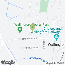Map of Didcot Glass & Glazing in Wallingford, oxfordshire