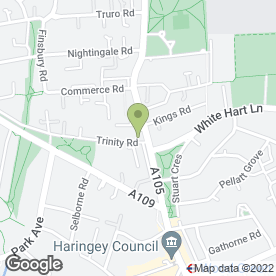 Map of Wood Green Timber Co.Ltd in Wood Green, London, london