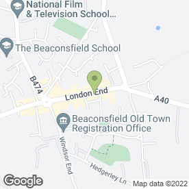 Map of artsmart School of Art in Beaconsfield, buckinghamshire