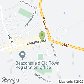 Map of A.J Dunlop Car Servicing in Beaconsfield, buckinghamshire