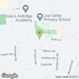 Map of Park Lane Medical Practice in London, london