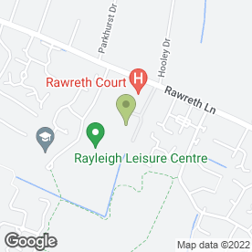 Map of PRECIOUS MOMENTS BRIDALWEAR in Rayleigh, essex