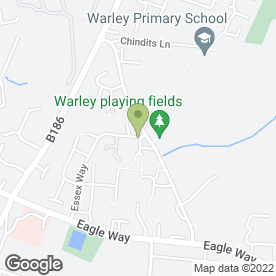 Map of Dreams Limousines in Great Warley, Brentwood, essex