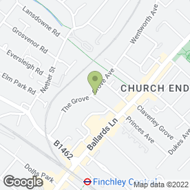 Map of Early Learning Years Nursery in Finchley, London, london